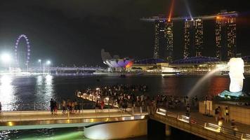 Singapur - horizonte de la ciudad