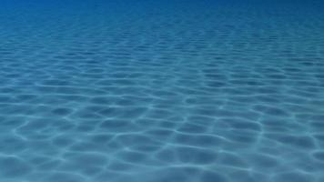 padrões de água na superfície de uma piscina video