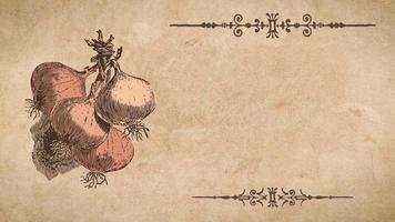 plantilla de receta de cebolla