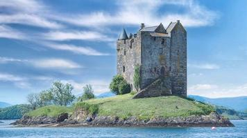 Stalker Castle in Scotland