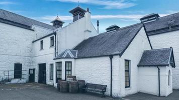 destilería de whisky escocés