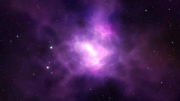 loop de fundo do espaço profundo