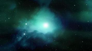 bucle de fondo del espacio profundo