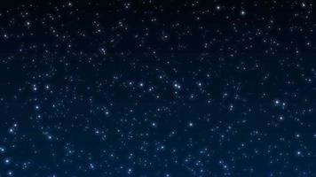 loop de fundo de estrelas brilhantes