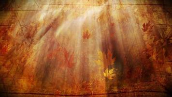 fondo abstracto de la temporada de otoño