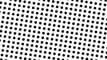 animación de patrón de estilo pop-art