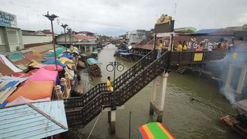 schwimmender Amphawa-Markt, Samut Songkhram, Thailand