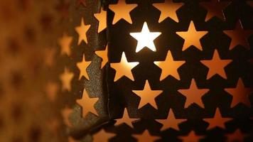 texture abstraite avec étoile video