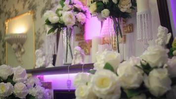 flores de boda y decoración