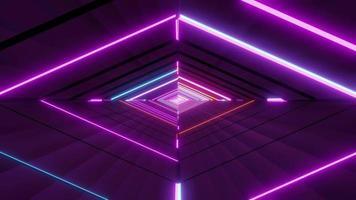 oeil coloré abstrait brillant video