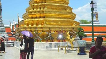 Bangkok Thailand - Smaragd Tempel