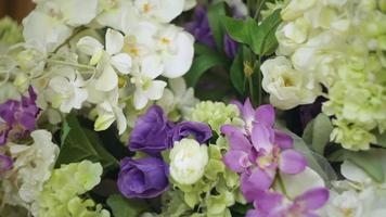 decorazioni per matrimoni di fiori video
