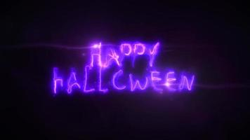 feliz halloween clip de fondo de miedo video
