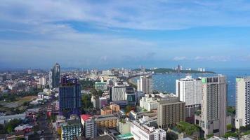 città di pattaya in thailandia video