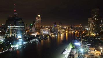 belo edifício de arquitetura na cidade de Bangkok, Tailândia
