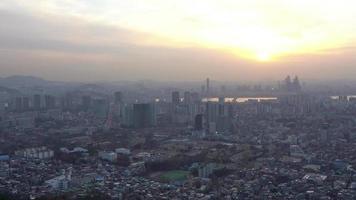 Seoul Stadt in Südkorea video