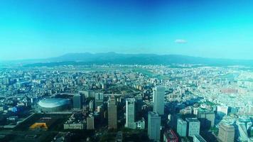 ciudad de taipei en taiwán video