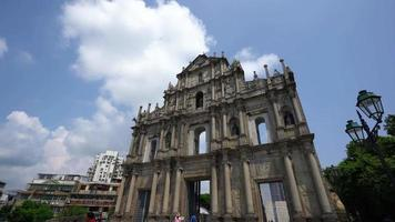 Saint Paul Church Ruinen in Macau, China