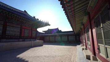 Palais de Gyeongbokgung à Séoul, Corée du Sud video