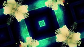 Abstract Kaleidoscopic Forms Pulse and Flicker video