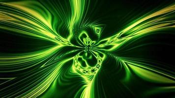 psychedelische, hypnotisierende Formen wellenförmig und hypnotisieren video