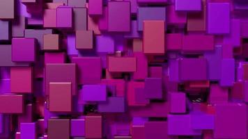 cubos vermelhos pulsam e mudam video