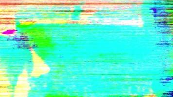 imagens de tv barulhentas piscando video