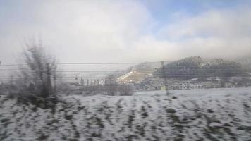 viagem de inverno na suíça