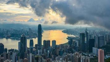 paysage de Hong Kong