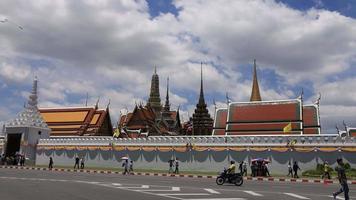 wat phra kaew - o templo do Buda Esmeralda em Bangkok, Tailândia