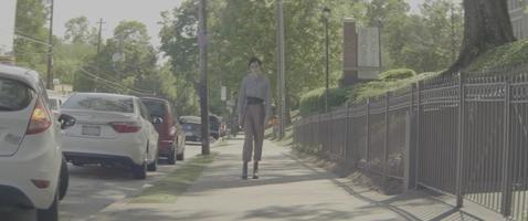 passeggiando per la città