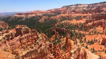 Pan de Bryce Canyon en Utah 4k