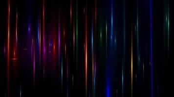 destello de lente efecto especial fondo negro