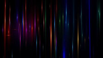 lente flare efeito especial fundo preto video