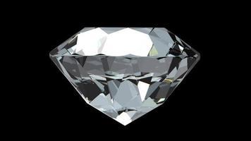 rotierender Diamantedelstein