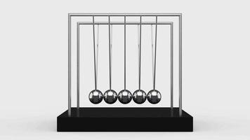 balles d'équilibrage berceau de Newton video