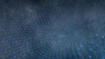 fondo de tecnología azul abstracto