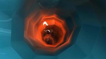 Túnel de ciencia ficción modelo 3d
