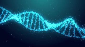 fundo de DNA video