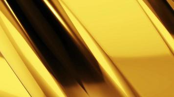 fundo abstrato onda de ouro video