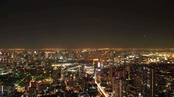 paisagem urbana de bangkok na tailândia video