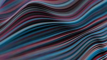 abstrakter Stoff Stoff, der Hintergrundanimation 4k winkt