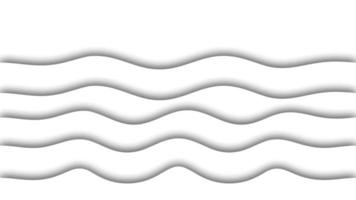 Abstract White waves Background Animation