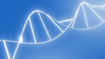 DNA-Molekül Helix Strang Hintergrund Video