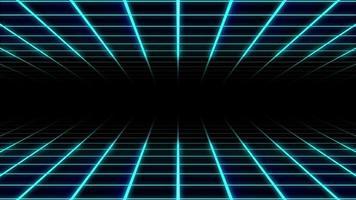 fond de grille bleue video