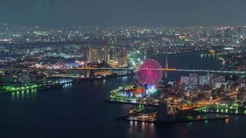 The Night in Osaka City