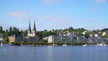 città di lucerna in svizzera