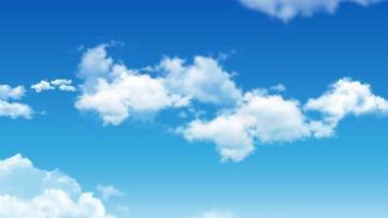 nuvem e fundo animado do céu.
