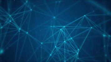 Abstract blue network background