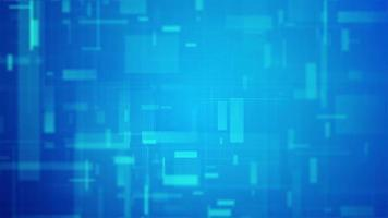 apresentação de tecnologia de notícias azul video